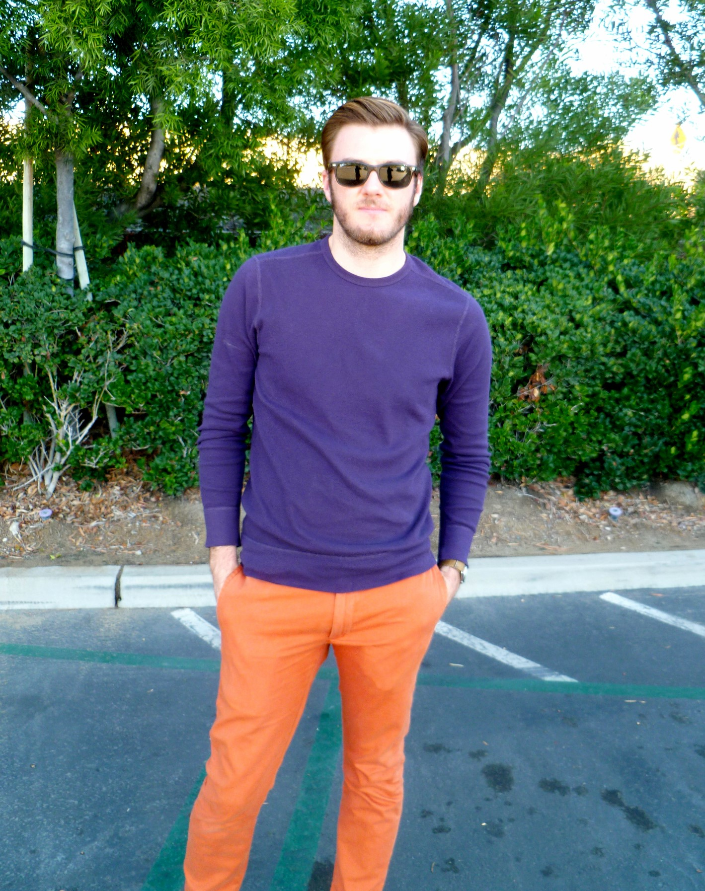 Purple and Orange 3