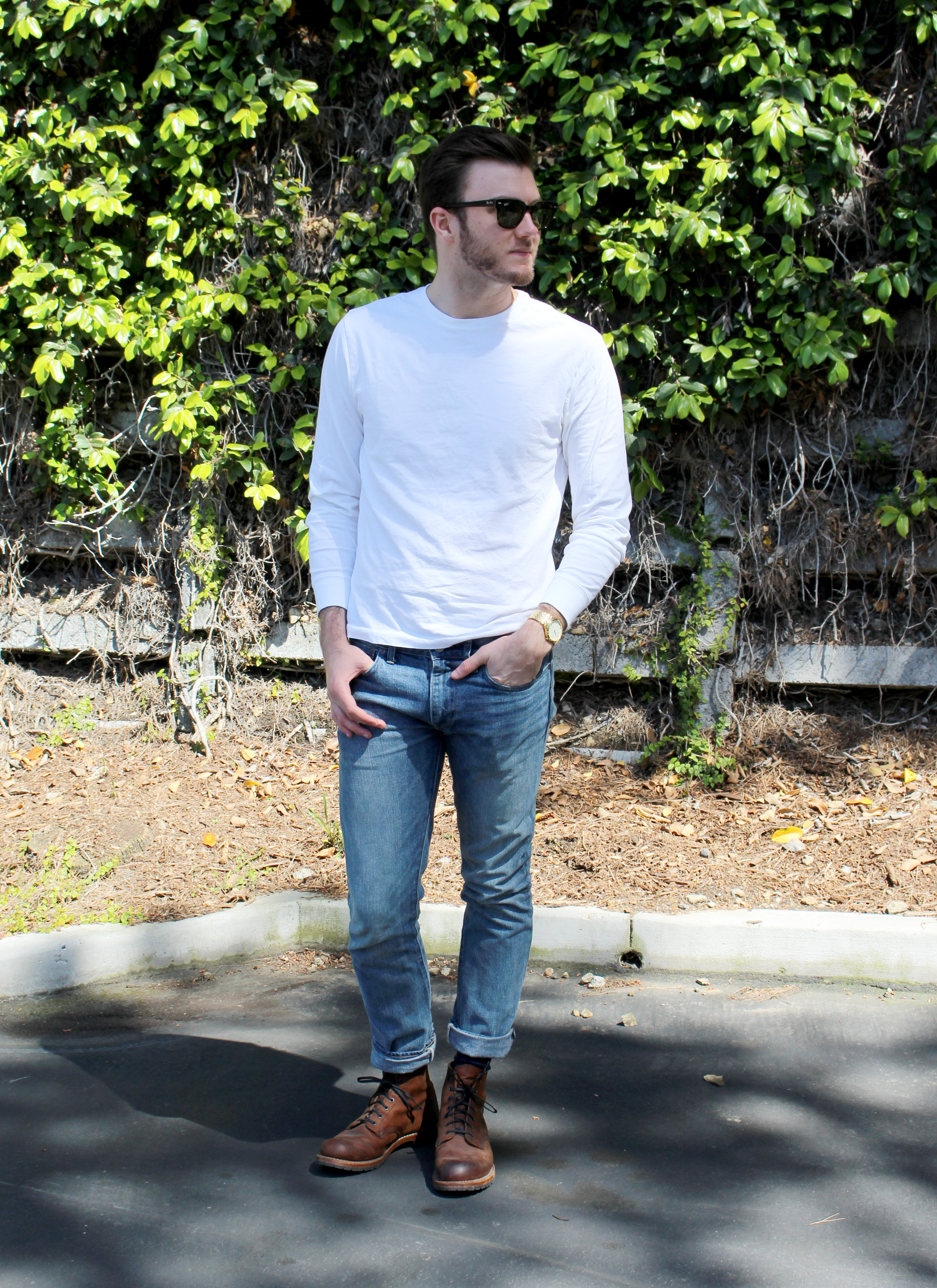 Outfit ideas that will make men look attractive stories for White t shirt outfit mens
