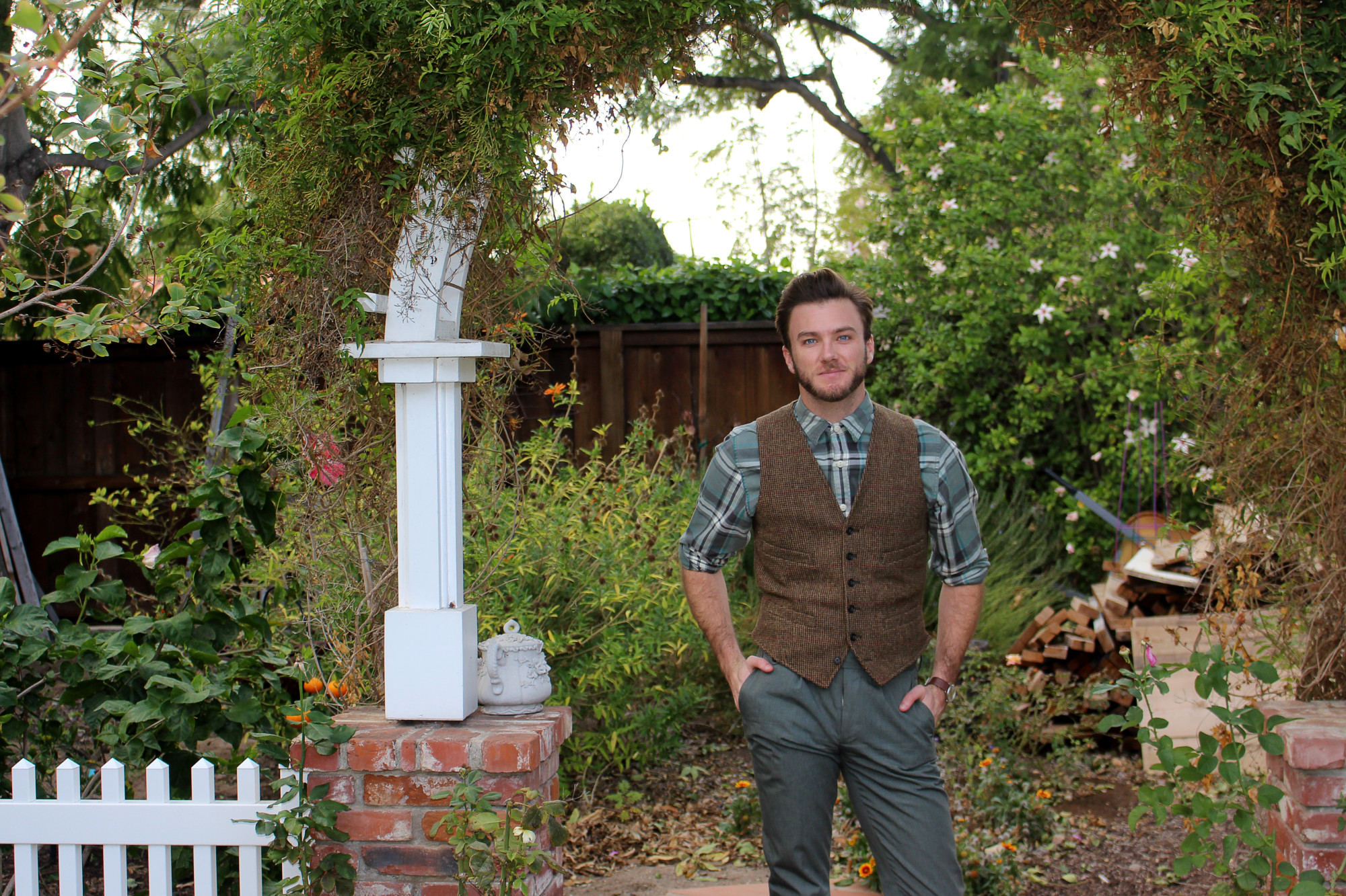 Timeless Tweed Vest 1