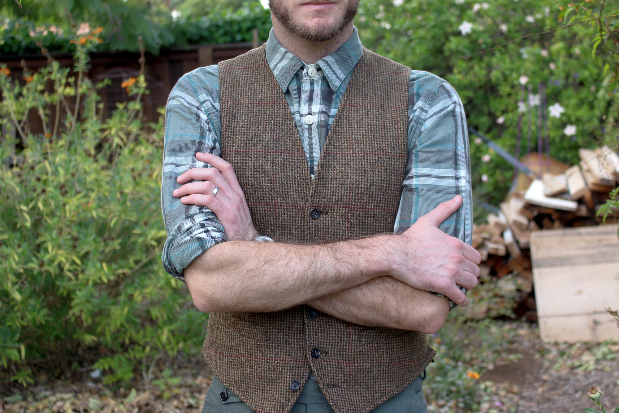 Timeless Tweed Vest 7