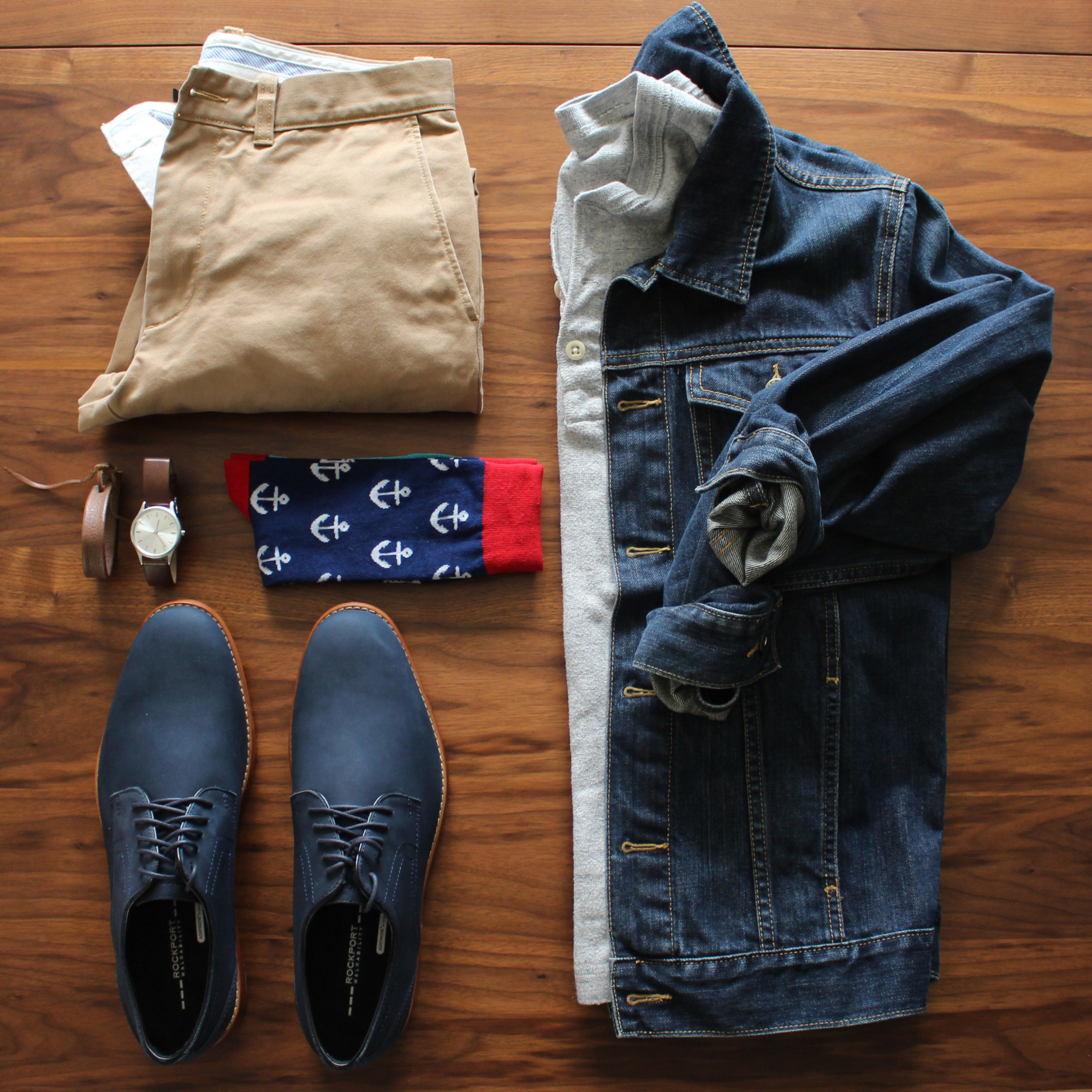 Rockport Casual Look