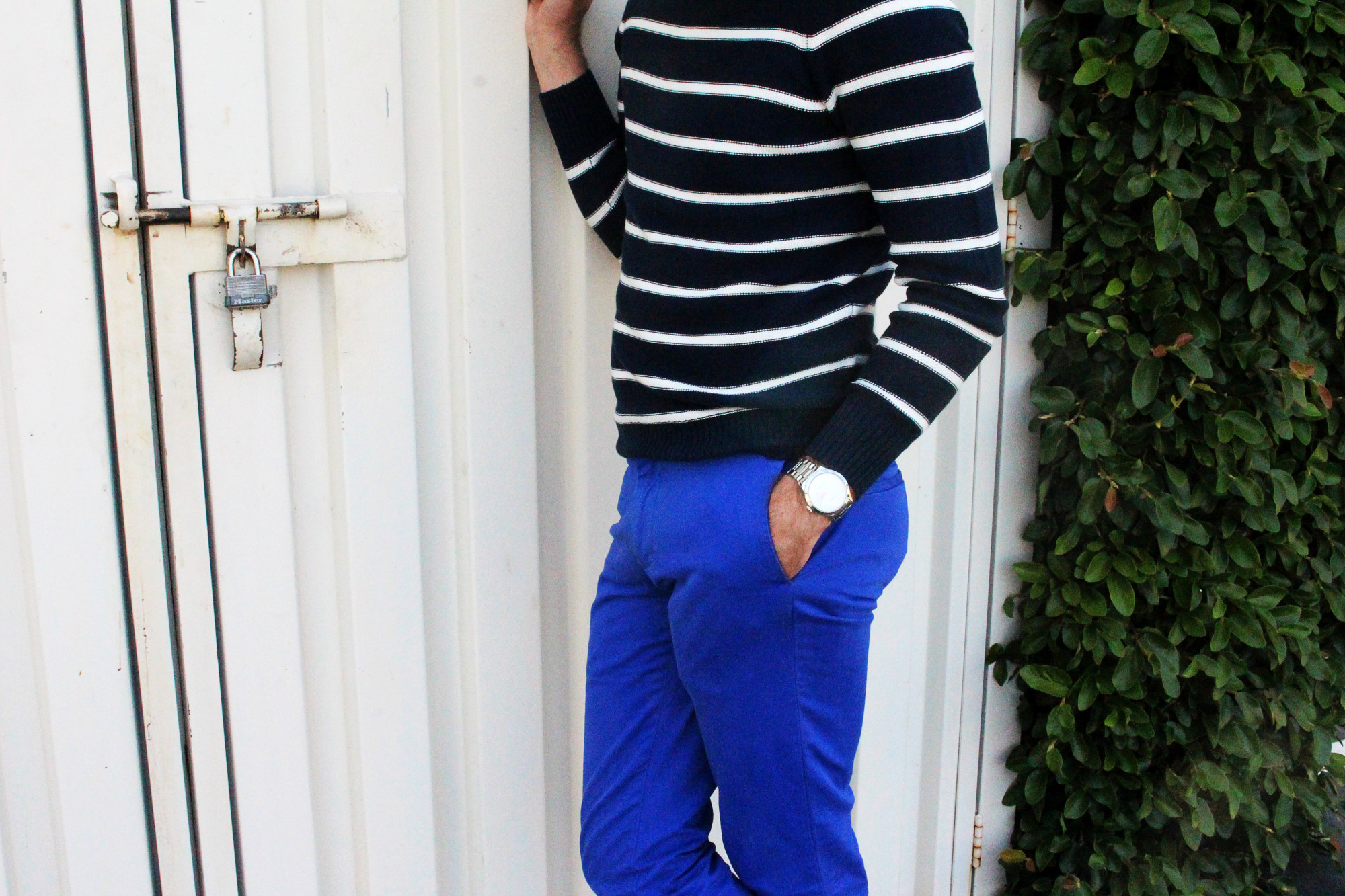 Blue and Navy Stripes 4