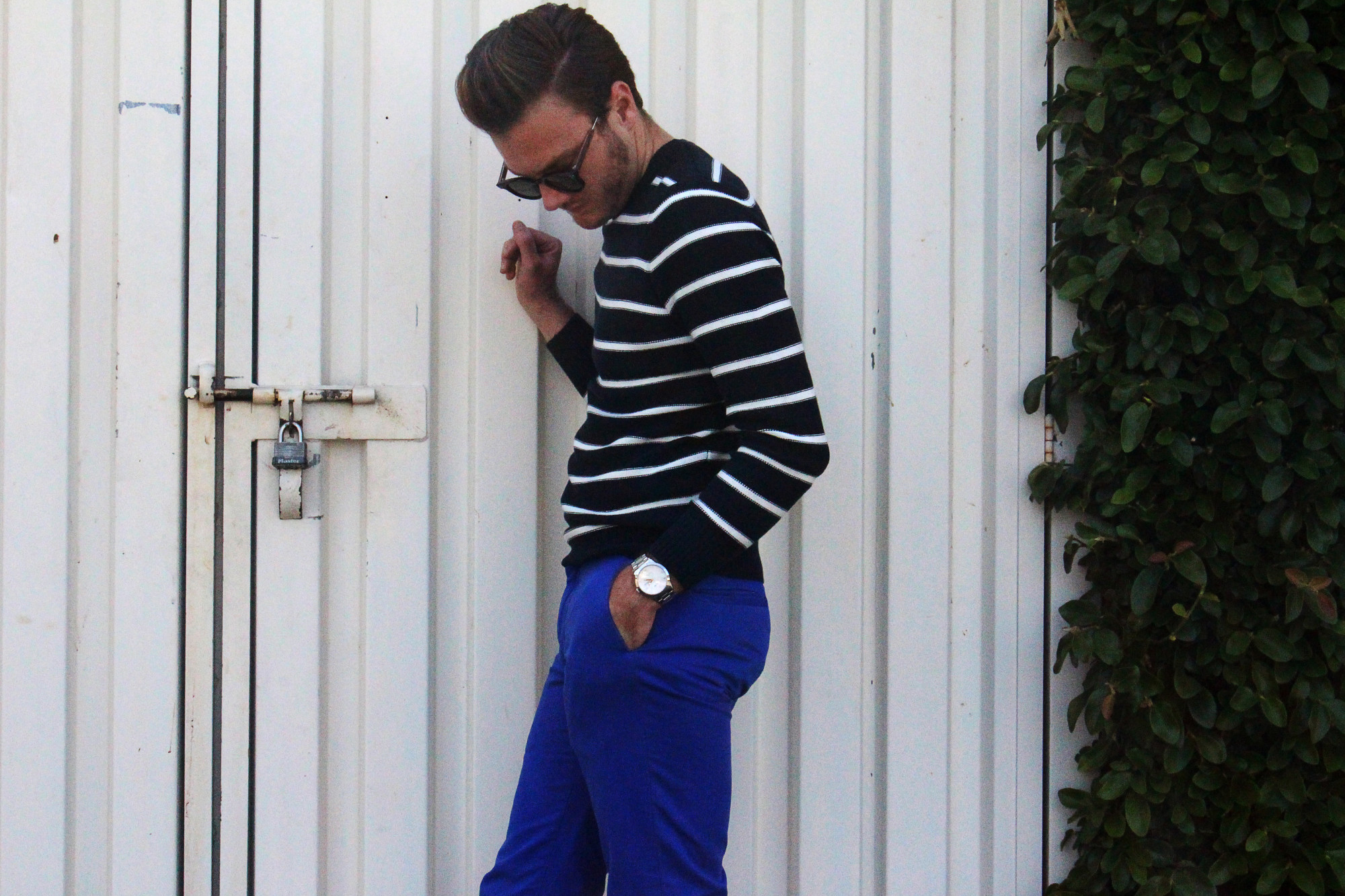 Blue and Navy Stripes 7