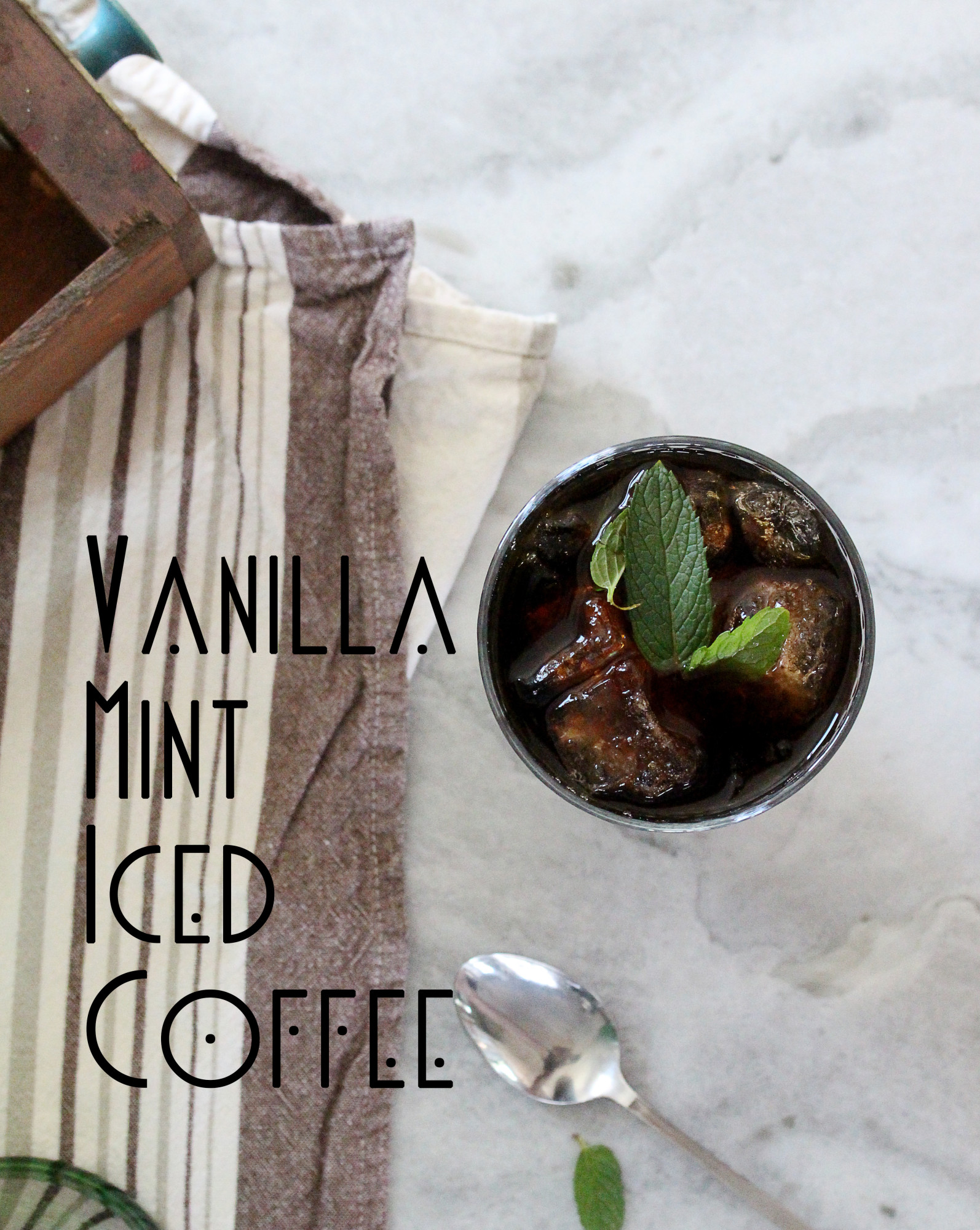 Vanilla Mint Iced Coffee PIN