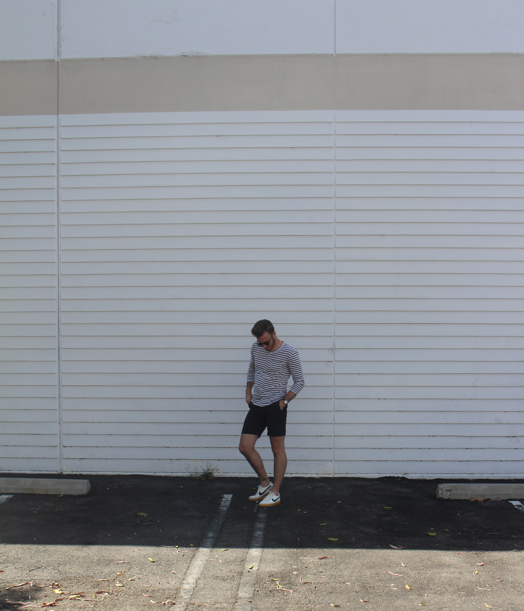 Striped Mens Casual Look 6