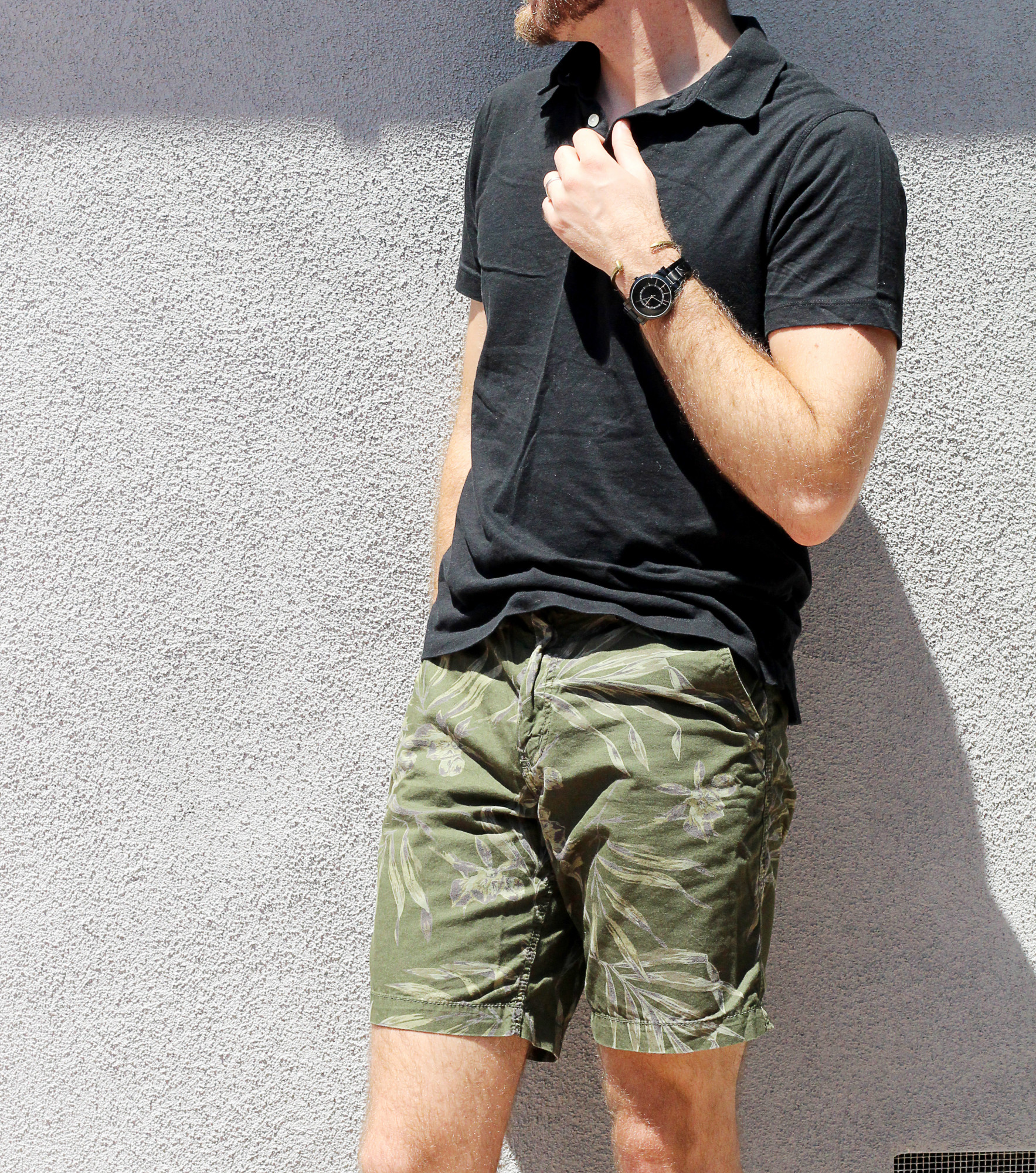 Black and Camo Shorts 2