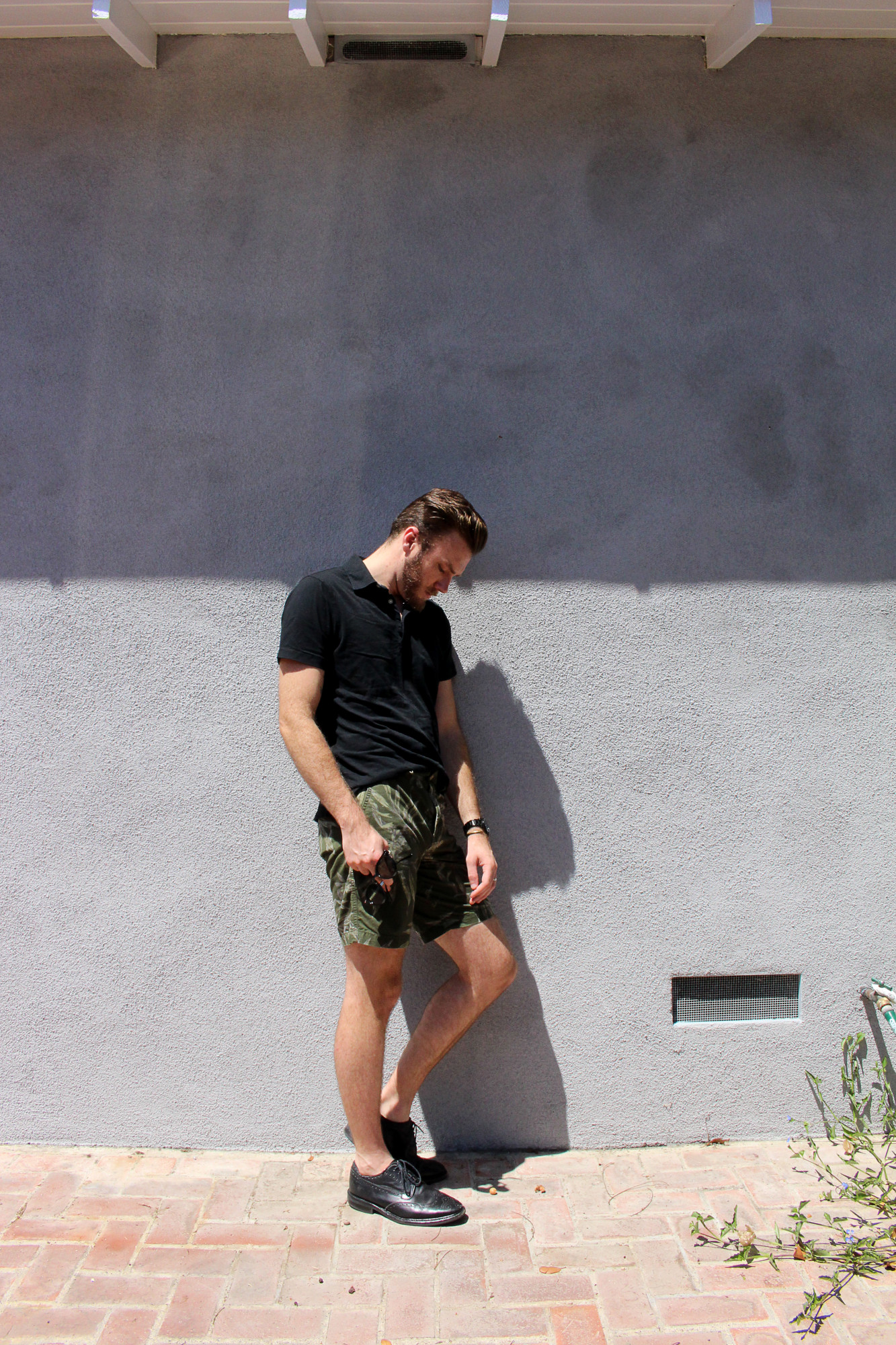Black and Camo Shorts 5