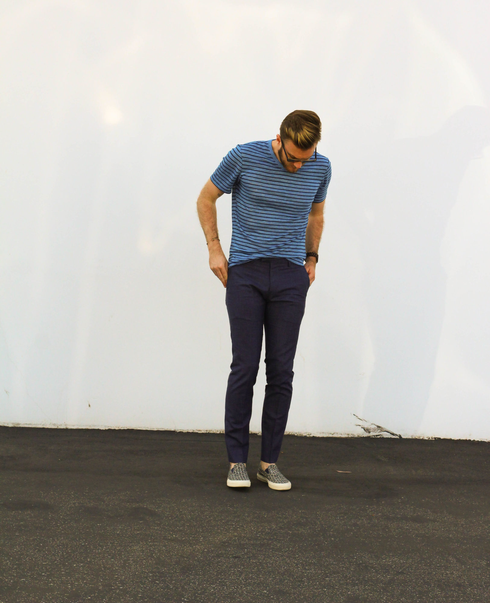 Banana Republic Blue Casual Menswear-2