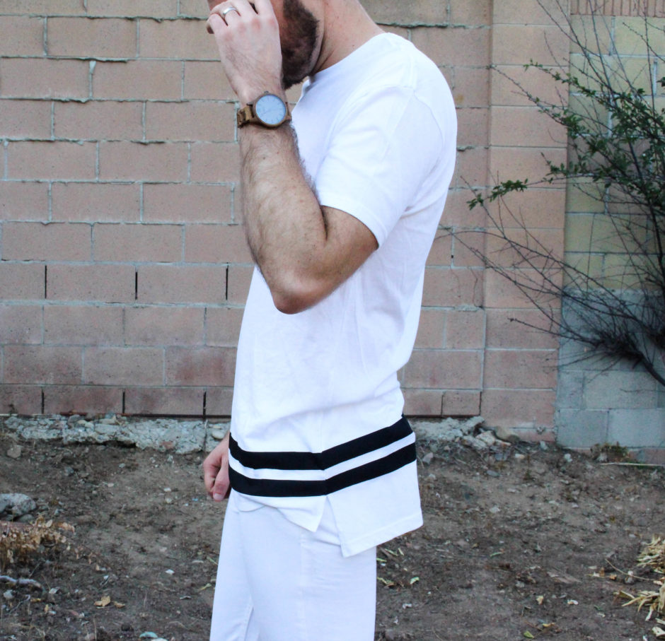 how to wear a white tee shirt-7
