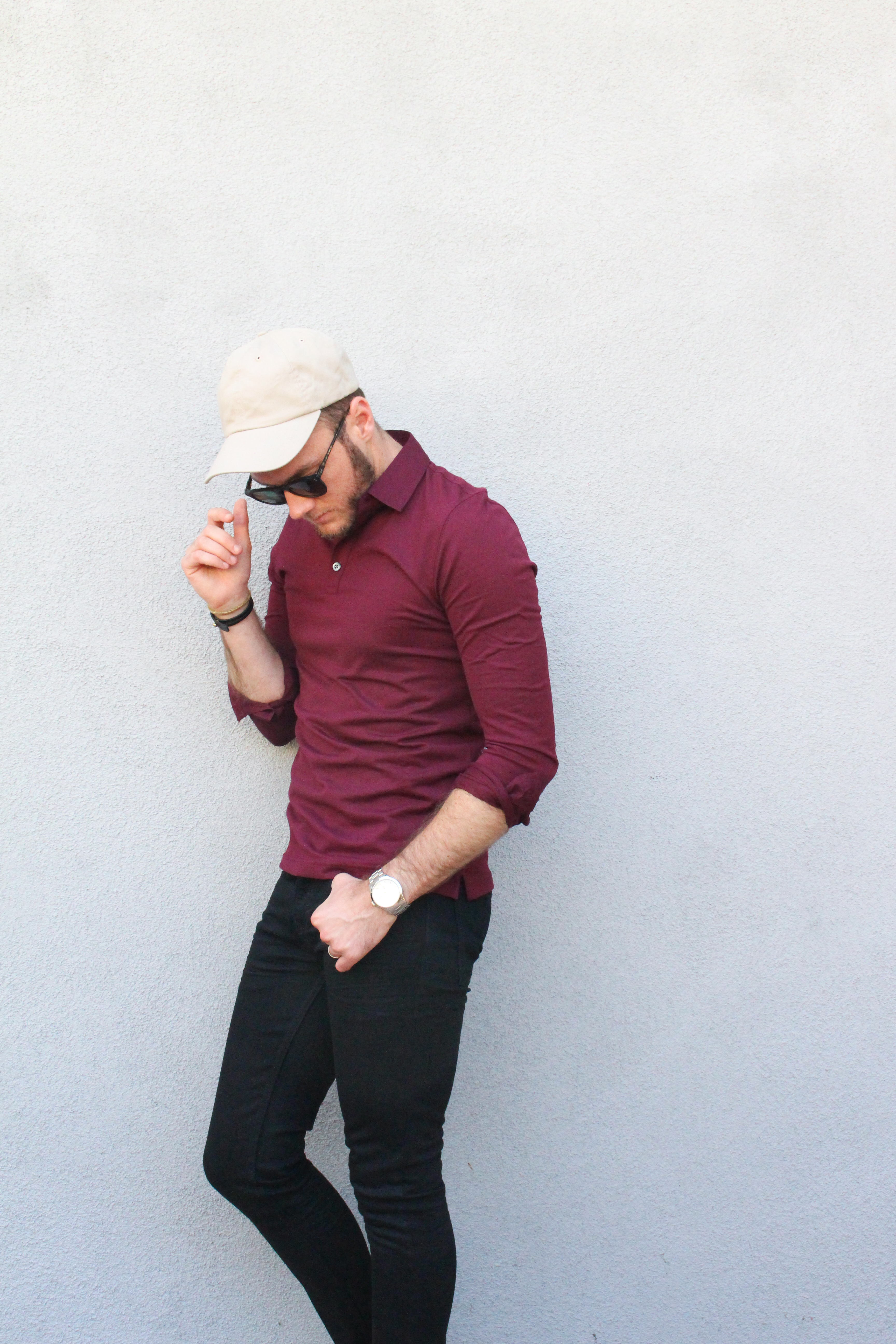 BR Casual Preppy Polo and Jeans-1
