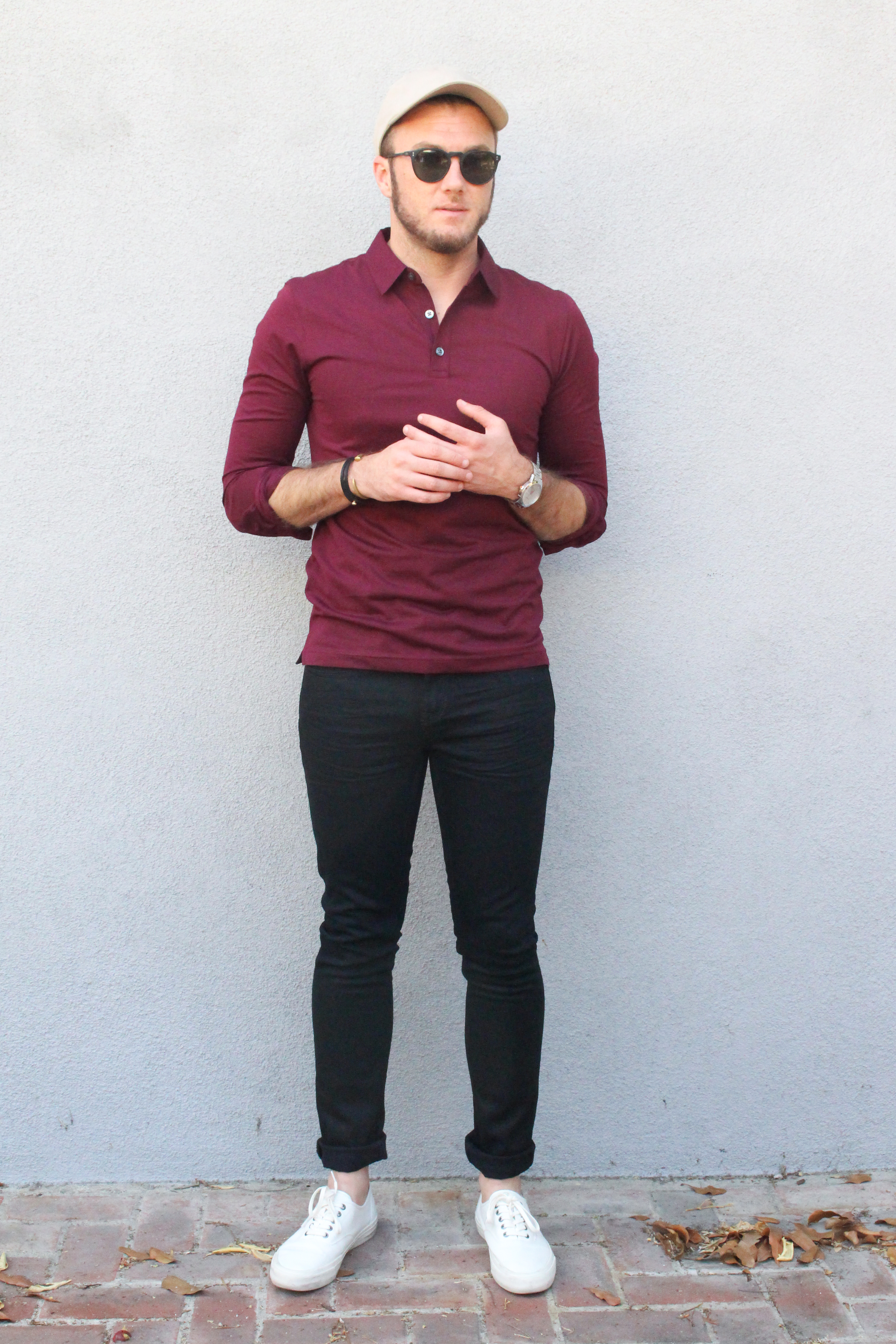 BR Casual Preppy Polo and Jeans-3