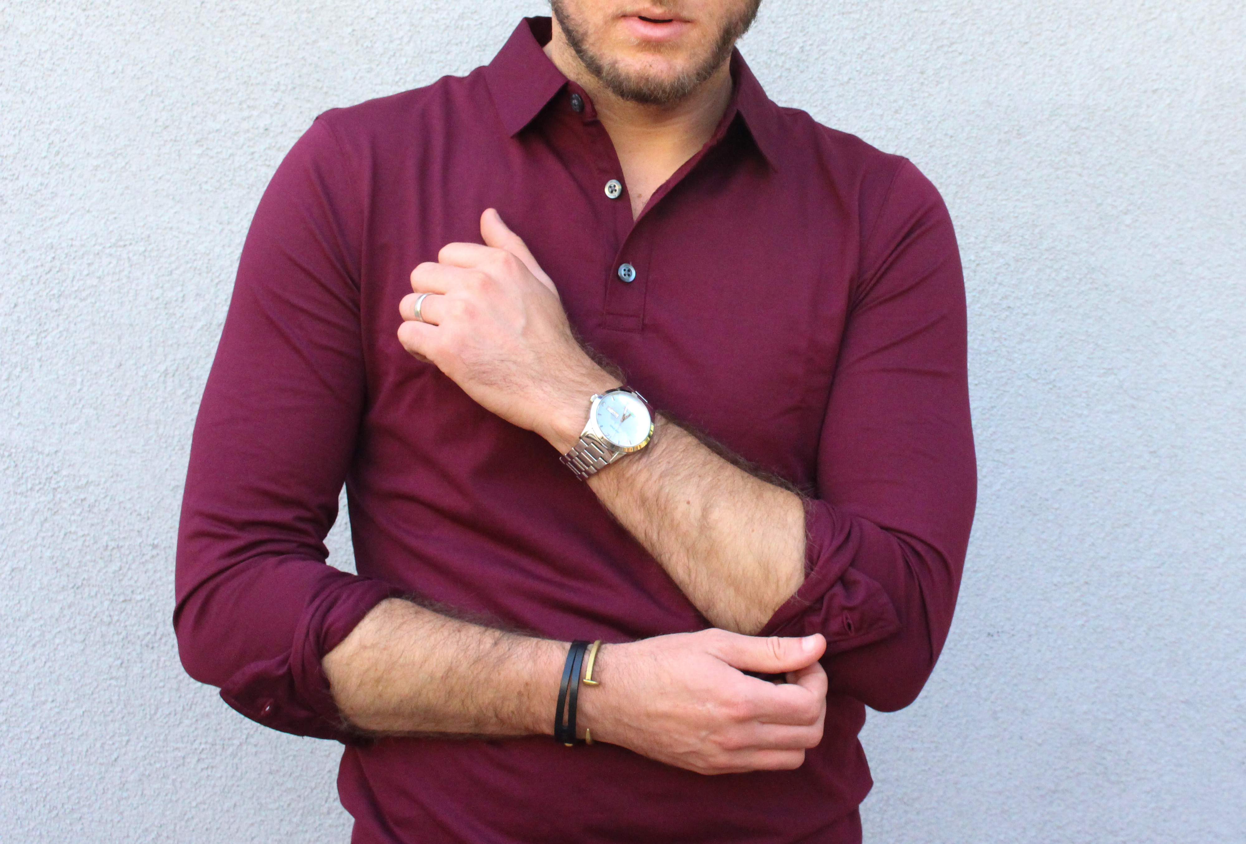 BR Casual Preppy Polo and Jeans-6