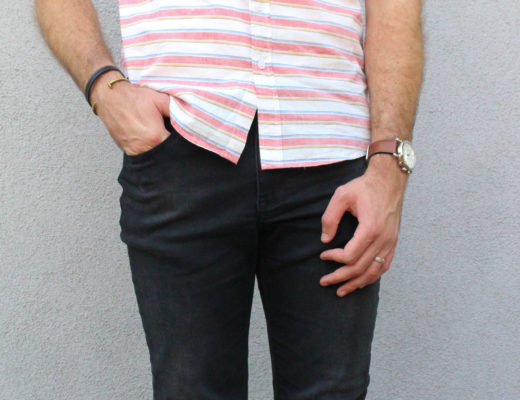 Summer Stripes and Short Sleeves-8