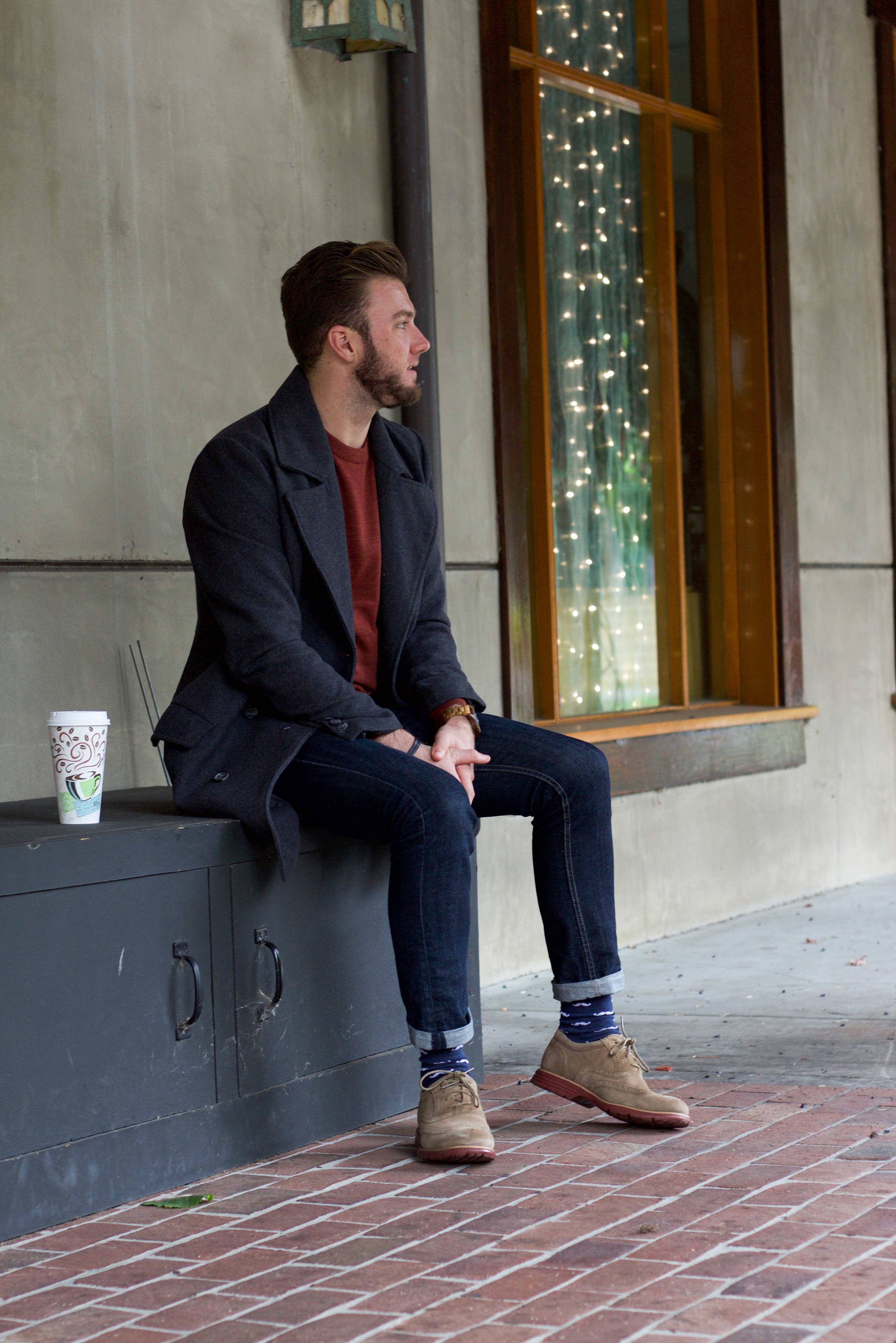 Rockport Wingtips and Mens Outerwear